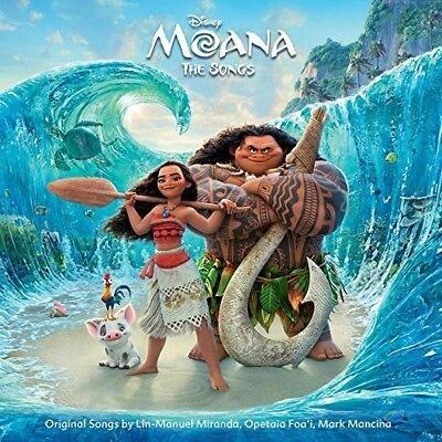 Moana  The Songs  Original Soundtrack   New Cd  Australia   Import