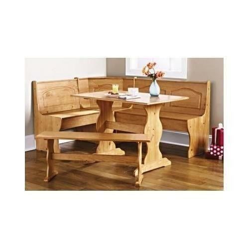 Breakfast Nook Bench Dining Sets eBay : 3 from www.ebay.com size 500 x 500 jpeg 20kB