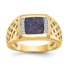 Lapis Yellow Yellow Gold Jewelry for Men
