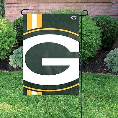 NFL Bold Logo Garden Flag Green Bay Packers 12,5