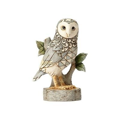 New Enesco Jim Shore Heartwood Creek Figurine Wdlnd Owl