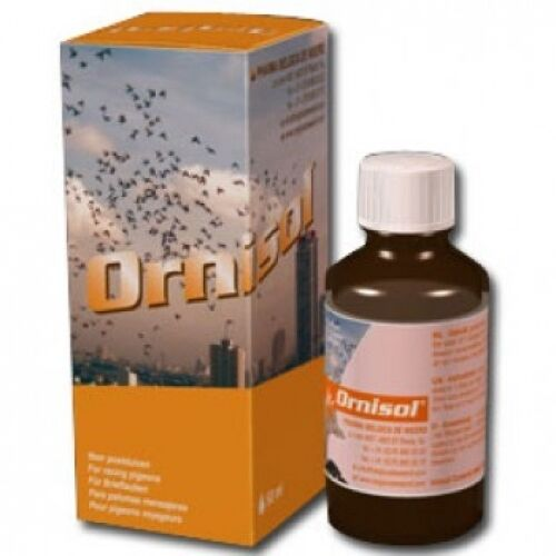 Pigeon Product - Ornisol 50 ml - Ornithosis - by Belgica de Weerd