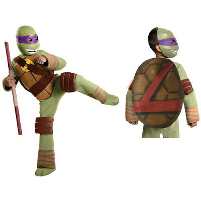 Boys Deluxe Donatello Ninja Turtles Costume Large 12-14