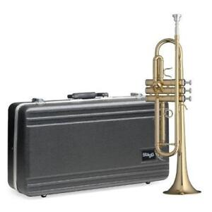 Stagg WS-TR115 Basic Bb Trumpet with Case Included