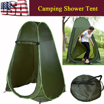 Zipper Pop Up Tent For Changing Room Toilet Shower Camping D