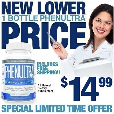 1 Cnt PhenUltra Quick Fast Strong Adipex Weight Loss Diet Pills Slimming P