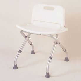 Folding Bath / Shower Chair With Back