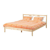 Ikea Wooden Bed Frame