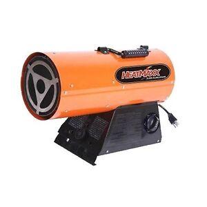 Heatmaxx Propane Forced Air Torpedo Heater 55 000 Btu
