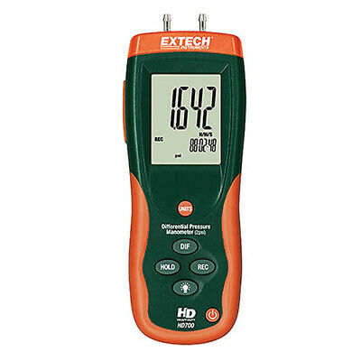 Extech Hd700 Differential Pressure Manometer 2psi