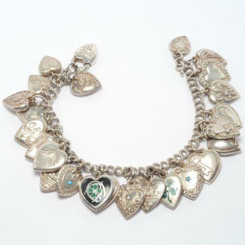 Antique Gold Charm Bracelet: Antique Charm Bracelet