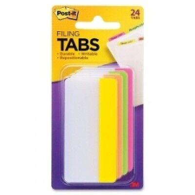 Post It. Durable Writable Lot Of 6 Packs Easy Dispenser Tabs 24 Each Pack New 3