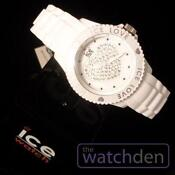 Ice Love Watch White