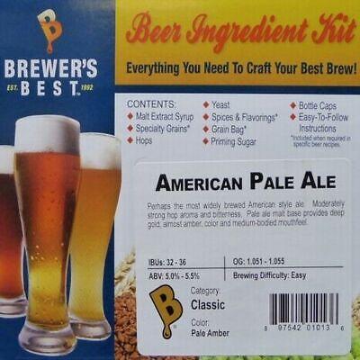 AMERICAN PALE ALE Brewer's Best Homebrew Beer Ingredient (Best American Pale Ale)