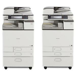 SPECIAL DEAL ONLY FOR $3850 - BUY 2 Ricoh MP C3503 Color Multifuction Office Copier Printer Scanner 11x17 - BUY COPIERS