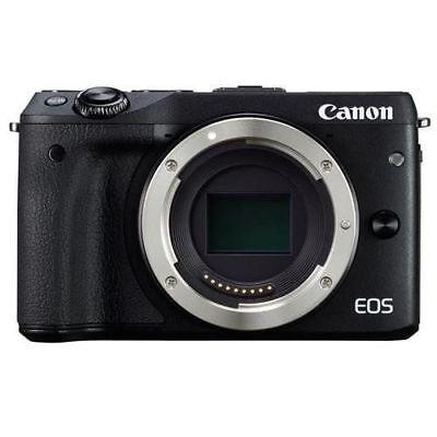 Canon EOS M3 Mirrorless Camera Body Only Black