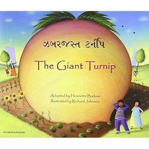 The-Giant-Turnip-Gujarati-amp-English-by-Henriette-Barkow-Paperback-2010
