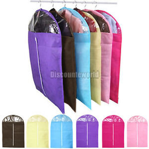 Clothes-Coat-Dress-Garment-Dress-Suit-Dustproof-Storage-Cover-Protector-Bags