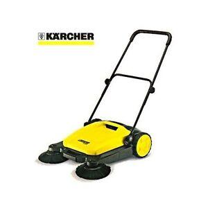 SPAZZATRICE-manuale-KARCHER-S650-scopa-per-esterni-pulitrice-doppia-spazzola
