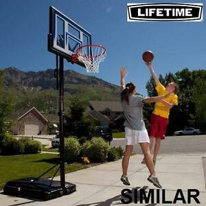 "NEW LIFETIME 54"" BASKETBALL SYSTEM - 124697584 - PORTABLE"
