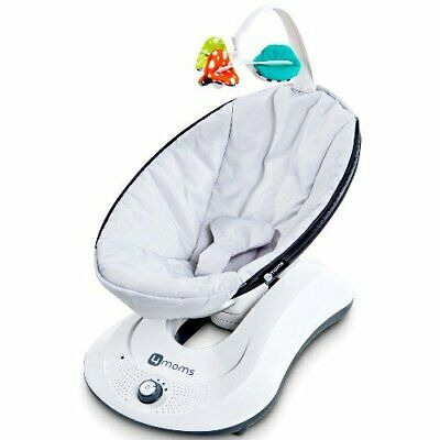 4moms Rockaroo Compact Front to Back Infant Baby Swing - Gray