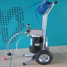 AIRLESS PAINT SPRAYER !!! FREE UK IRELAND DELIVERY electric paint spray no air compressor needed