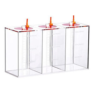 3x500ml Dosing Container Lightly Used