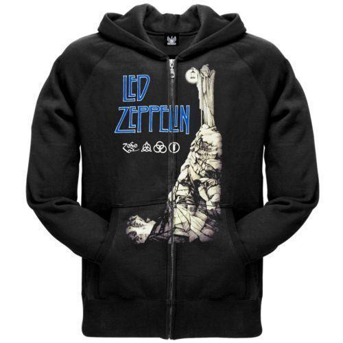 Led Zeppelin Hoodie Ebay