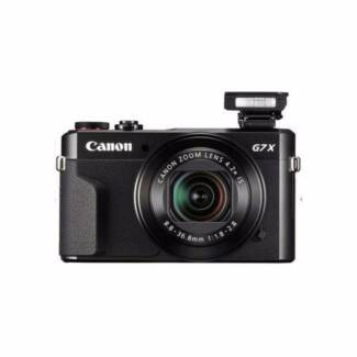 NEW Canon PowerShot G7 X Mark II Digital Camera 1 YR WTY