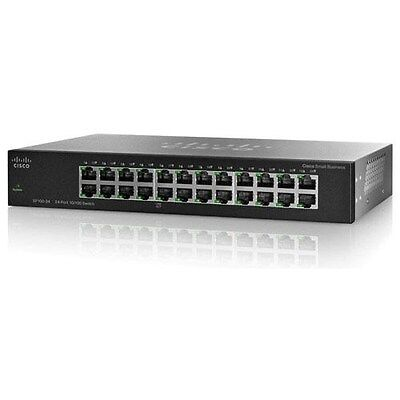Cisco-SF100-24-24-port-10-100-Switch-SF100-24-NA