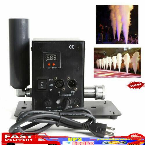 CO2 Jet Column Machine DMX 512 Party Smoke Gun Stage Show Concert DJ Fog Effects