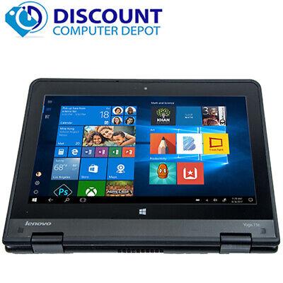 Laptop Windows - Lenovo Thinkpad Yoga Touchscreen Laptop Computer Windows 10 4GB 128GB SSD HDMI