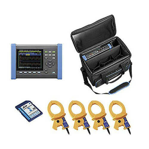 Hioki PQ3100-02/600 KIT Power Quality Analyzer Kit w/ 4 x 600A Sensors