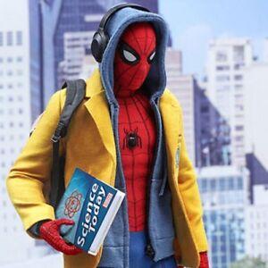 Spiderman Homecoming Yellow Warm and Stylish Wool Coat