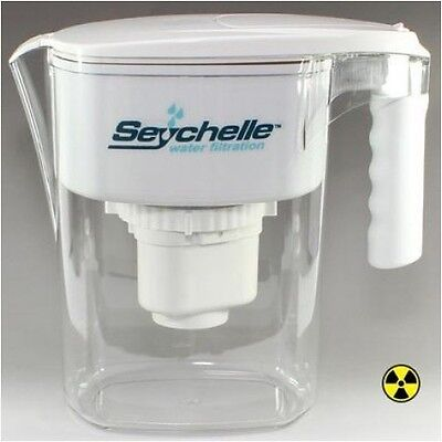 SEYCHELLE FAMILY RADIOLOGICAL PURE WATER FILTER PITCHER - LARGE + FREE SHIP **