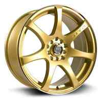 mags ink gold 17x8.5 5x100/114.3