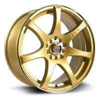 mags ink gold 17x75 5x100/114.3