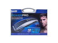 Bauer Powerpro Professional Grooming Kit. Beard / Hair Trimmer