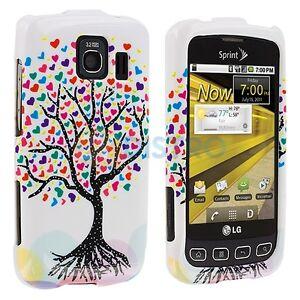 lg optimus s hard phone case ebay