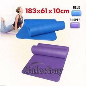 183*61*1cm Size Yoga Mat Gym Pilates Fitness Exercise Balance Thomastown Whittlesea Area Preview