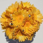 Silk Wedding Bouquet Yellow