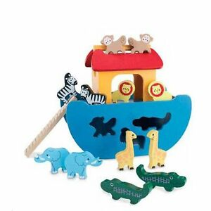 Noah's Arc Wooden Shape Sorter