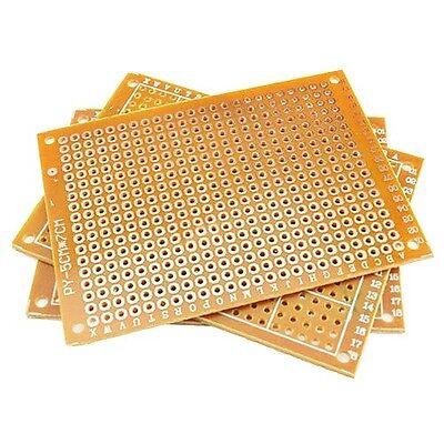 10pcs 5x7cm Bakelite Diy Prototype Board Pcb Universal Breadboard High Quality