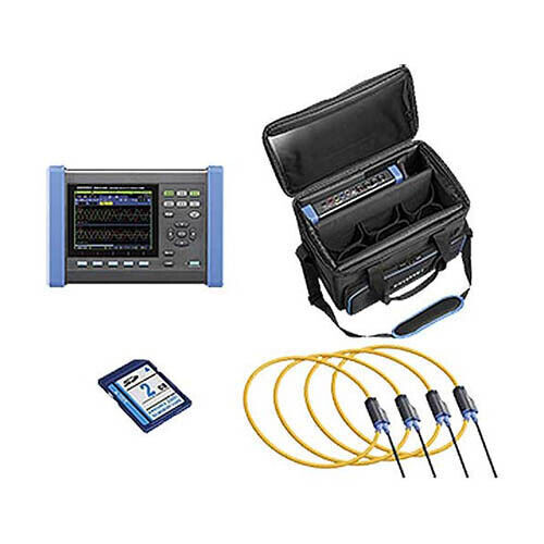 Hioki PQ3100-04/6000 KIT Power Quality Analyzer Kit w/ 6000AAC Sensors