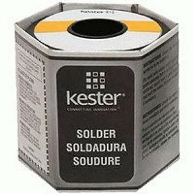 Kester 44 Rosin Core Solder 6337 .015 1 Lb. Spool New Free Shipping