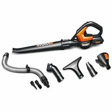 WG545.1 WORX 20V Blower/Sweeper with 8 Clean Zone Attachments