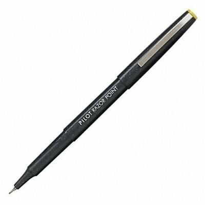 Pilot Razor Point Porous Point Pen - Extra Fine Pen Point Type - 0.5 Mm Pen