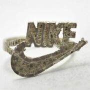 Silver Nike Ring