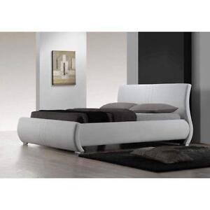 white sleigh bed - Slay Bed Frame