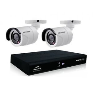 KIT 2 CAMERAS SECURITE + DVR - SECURITY CAMERAS - WIFI SANS FIL